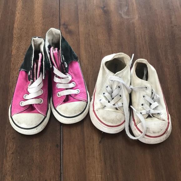 2f53a54e2ed2e5 Converse Other - Toddler converse size 6 bundle